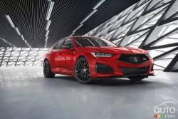 Voici l'Acura TLX 2021
