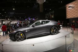 Unveiled at the 2014 Los Angeles auto show, see images of the 2016 Jaguar F-Type R AWD from the show floor.