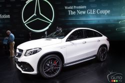 The 2016 Mercedes-Benz GLE Class was unveiled to the members of the media at the 2015 North American International Auto-Show and Auto123.TV was their to capture images of this suv.