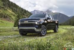 Voici le Chevrolet Silverado 2022