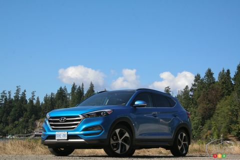 Photos de la Hyundai Tucson 2016