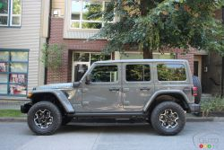 Nous conduisons le Jeep Wrangler Rubicon 4xe 2021