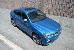 The X4 M40i ridicules a number of sports cars given its ability to reach 100 km/h in only 4.9 seconds.
