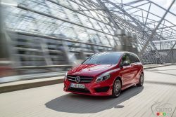 The 4MATIC technology has trickled down to the B 250 4MATIC. I think the introduction of the AWD system has made this model all the more relevant to buyers.
