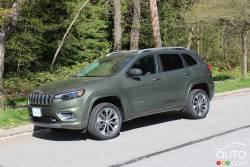 Nous conduisons le Jeep Cherokee Overland 2019