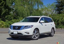 Check out the 2016 Nissan Pathfinder!