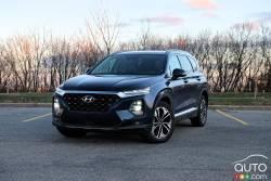 Nous conduisons le Hyundai Santa Fe 2019