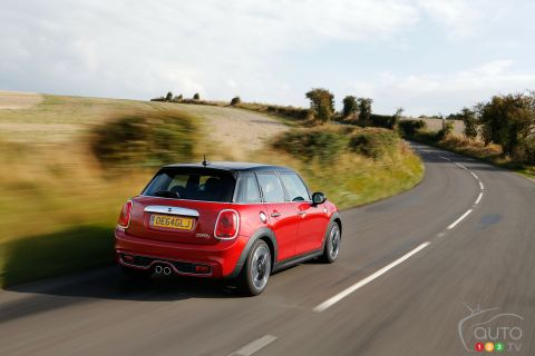Photos de la Mini Cooper S 5 portes 2015