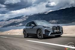 Voici le BMW iX 2022