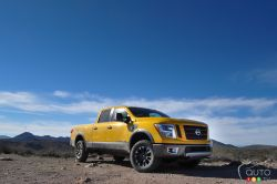 "Well, on paper it's actually too good for its designated league, and by the same token isn't quite well enough prepared for the heavy-duty league… The new Titan XD is slotted in the ""white space"" according to Nissan, between the two major pickup segments and this could either turn out to be a stellar move or a tremendous mistake."