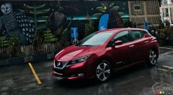 The 2018 Nissan LEAF, a modern and drivable zero-emissions car
