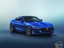 Voici la Jaguar F-Type 2021