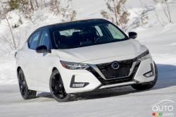 Nous conduisons la Nissan Sentra SR 2021