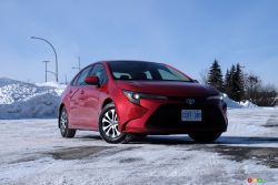 Nous conduisons la Toyota Corolla hybride 2021
