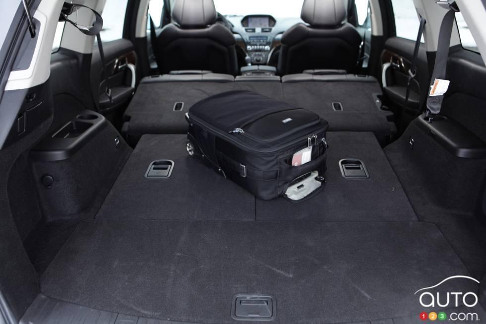 Full cargo space