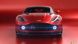 The Aston Martin Vanquish Zagato concept.