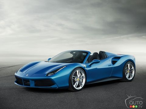 Photos de la Ferrari 488 Spider