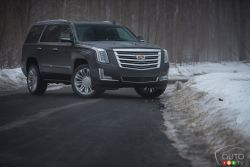 The 2016 Escalade are a perfect combination of sophistication, functionality and technology. At home on all roads, they deliver powerful performance when you need it. Created with craftsmanship not seen in other SUVs, the refined lines and features make one thing immediately apparent – it is first and foremost a Cadillac.