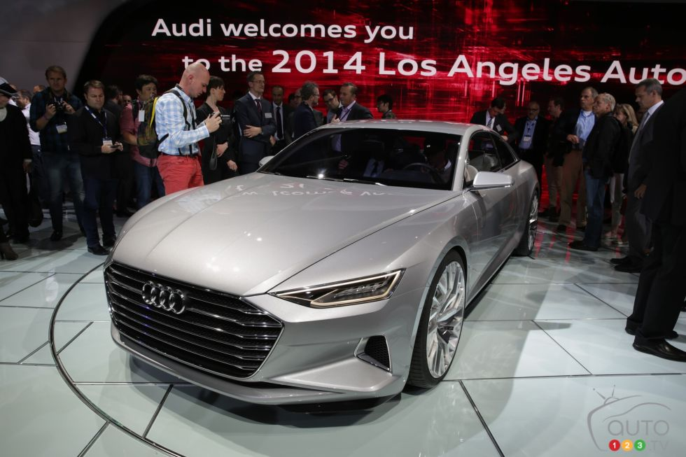 Audi A9 concept pictures from the 2014 Los Angeles auto show on ...