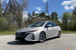 Nous conduisons la Toyota Prius Prime 2021