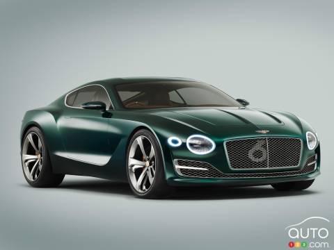 Photos de la Bentley EXP10 Speed 6