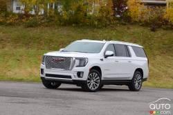 We drive the 2021 GMC Yukon