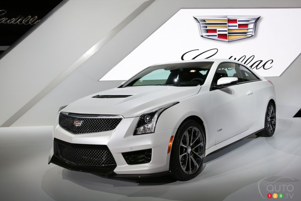 los angeles 2014 cadillac 39 s latest addition meet the 450 hp ats v car news auto123. Black Bedroom Furniture Sets. Home Design Ideas