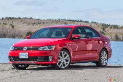 If the Jetta GLI were curry, it would rank at two-out-of-three chilies on the bottle. It's not scalding hot, but it gets served along with some German spice.Based on the normal Jetta, Volkswagen replaced the 2.5L 5-cylinder of the previous GLI with a new 2.0L TSI 4-cylinder last year. This year, that same powerplant gets a slight bump of 10 horsepower (for a total of 210 hp). The GLI also receives a sport-tuned suspension and a larger wheel package than more plebian Jettas.