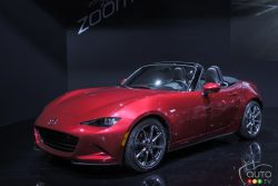 Mazda presented the all new 2016 MX-5 Miata at the 2014 Los Angeles auto show and we have a picture gallery.