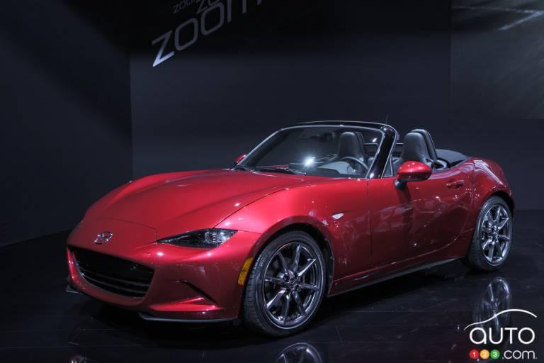 2016 Mazda MX-5 Miata pictures