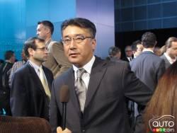Yousuke Sekino, ingénieur en chef et directeur de projet de l'Acura RLX 2014