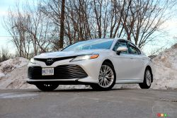 We drive the 2019 Toyota Camry XLE