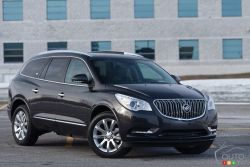 Buick's gone racier - The revised front fascia shifts the dynamics of the 2013 Buick Enclave in a positive way, as do the rear LED lights. The changes are minimal; however, they are noticeable enough to distinguish the '13 from the '12.