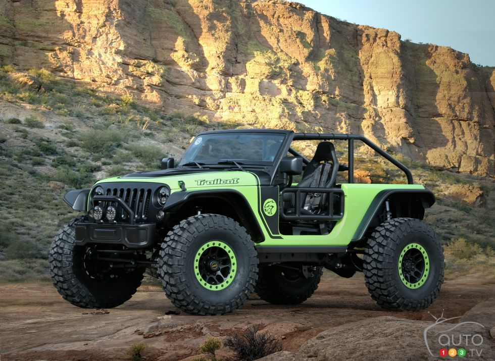 Jeep Trailcat Concept front 3/4 view