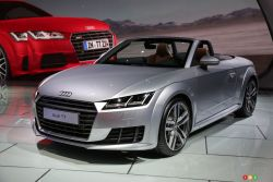 2016 Audi TT Roadster & TTS Coupe pictures: Audi presented the 2016 Audi TT Roadster & TTS Coupe at the 2014 Los Angeles auto show and we have a picture gallery.