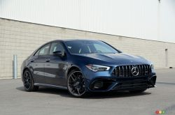 We drive the 2020 Mercedes-AMG CLA 45 4MATIC+