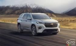 Nous conduisons le Chevrolet Traverse 2021