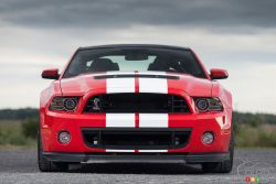 Star-spangled banner on wheels - A car so brutal, so devastating as the 2013 Shelby GT500 has no right existing in today's rational, environmentally friendly society.