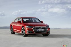 The new 2018 Audi A8 embodies the future of full-size luxury cars