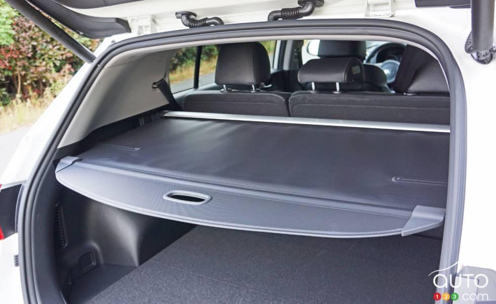 2017 Kia Sportage trunk details