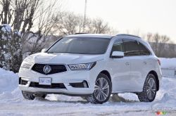 The 2018 Acura MDX is an excellent SUV and a safe buy.