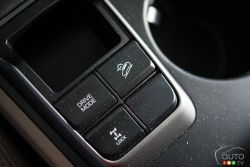 2016 Hyundai Tucson driving mode controls