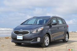 More than any car - The 2014 Kia Rondo is a compact crossover that may moonlight as a minivan, but lacks the signature sliding doors found on its principal rival. Without moving away from its family-hauler vocation, the new Rondo is a more modern and dynamic product than previous generations.