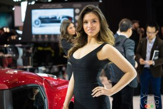 Les jolies dames du Salon Canadien International de l'auto 2016