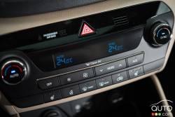 2016 Hyundai Tucson climate controls