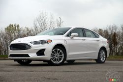 The new 2019 Ford Fusion Energi