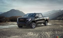 General Motors' GMC division introduces its new 2019 GMC Sierra truck