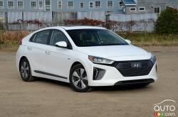 The new 2018 Hyundai IONIQ Electric Plus