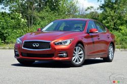 It will have taken 14 years for Infiniti to decide to bring change to its sporty sedan lineup. With the G35 which became the G37 and then renamed Q50 2 years ago, Infiniti was aimed at passionate drivers with it's decision to offer only a 6 cylinder engine.  The 2016 year model finally brings lots of great changes to this popular sedan.