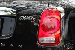 Rear headlight